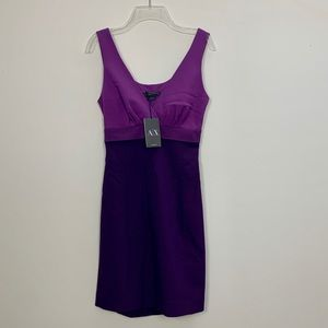 A|X Armani Sheath Dress w/back cutout sz 0 BNWT